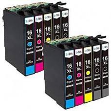 2x Epson (16 XL) Multipack Huismerk cartridge