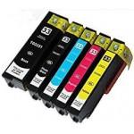 compatibel met Epson Multipack T3366  33XL - 5 Patronen