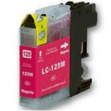 Brother LC-125 XL Magenta - 15ML Huismerk cartridge