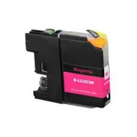 Brother LC223 XL C (LC-221) Magenta 10ML Huismerk cartridge
