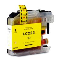Brother LC-223XL C (LC-221) Yellow 10ML Huismerk cartridge
