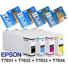 Epson Multipack T7031-T7032-T7033-T7034 Huismerk cartridge