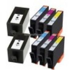 2x HP 934XL HP 935XL  Multipack - 8 Cartridges