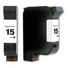 HP 15 ZWART HP C6615D Huismerk cartridge