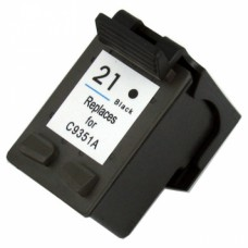 HP 21XL C9351AE  Zwart Huismerk cartridge