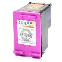 HP 302XL - Kleur 18ML HP F6U65AE Huismerk cartridge