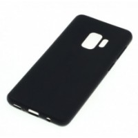 Flexible Transparent of zwart TPU back cover Iphone (Silicone)