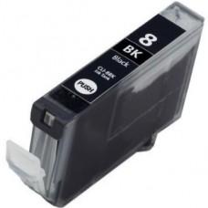 Canon  CLI-8BK Zwart - MET CHIP Huismerk cartridge