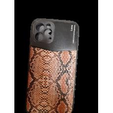 Furlo iPhone 12 leder met een mooie slangenprint