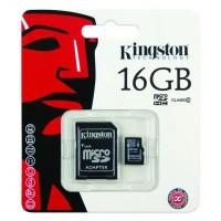 Kingston Micro SD 16GB met Adapter