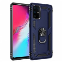 Anti-Shock back cover met magnetische ring houder Galaxy A Serie