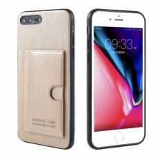Premium Card Bag Samsung Galaxy Note 10 Goud